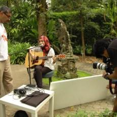 The Wknd Sessions recording at Rimbun Dahan