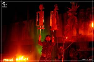 General repetisi Kapai-Kapai (atawa Gayuh) oleh Kalanari Theatre Movement di Teater Atap/Anjung Salihara, Jakarta. Photo: Eva Tobing