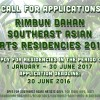 Call for Applications: Rimbun Dahan Southeast Asian & Hotel Penaga Residencies 2017 Round 1
