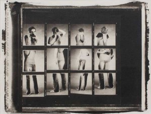 I See You, You See Me #2 (2008) / Platinum Palladium Print from a 4x5 Polaroid negative / Edition of 1