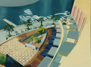 Dubai Marina by Sabine Reindel
