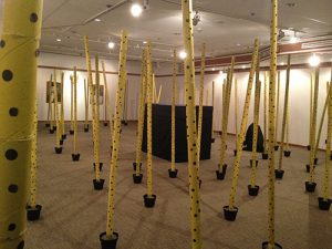 Growing Up, installation and performance, 2014
