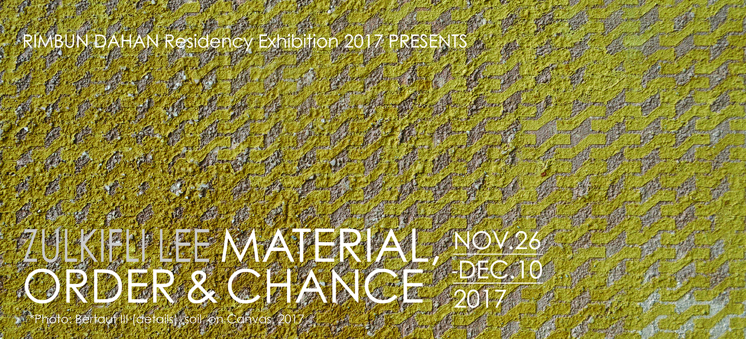 Material, Order & Chance