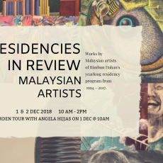 Residencies in Review – Malaysian Artists